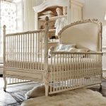 Dolce Notte Crib In Antique White and  Luxury Baby Cribs in Baby Furniture