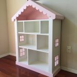 Dollhouse Bookcase, Kids Bookcase, Childs Bookshelf