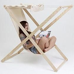 Double X outdoor folding chair by Portuguese designer Tiago Braz Martins. #foldi…