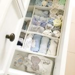 Drawer organization for baby nursery - Kelly Blog