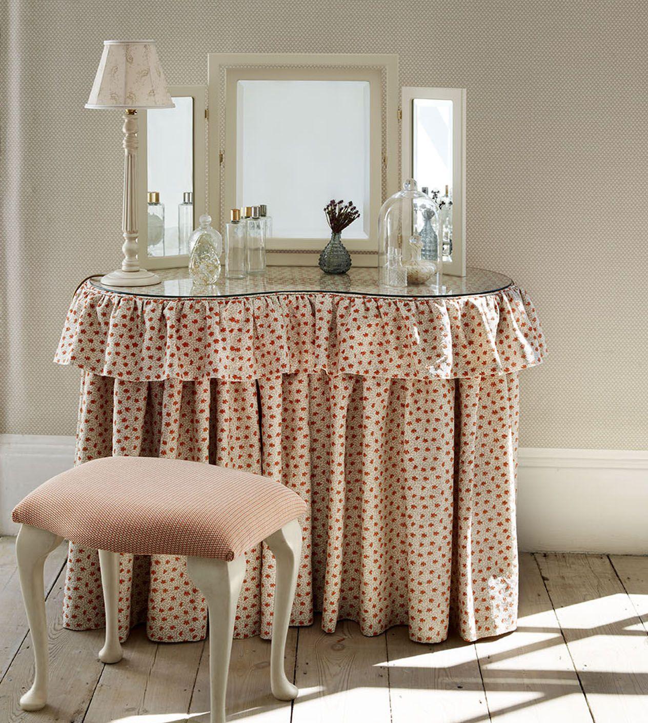 Dressing Table Skirts   … Soft Furnishings » Covers for kidney or rectangular…
