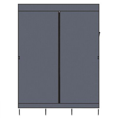 Ebern Designs Apollonios 49.21″ W Portable Closet Wardrobe | Wayfair