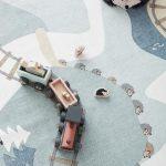 Edvin Woodland Play Mat Rug 130x170cm, Rug, Kids Concept - All Mamas Children