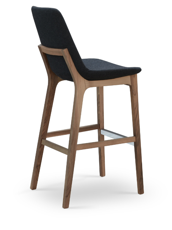 Eiffel Wood Stool – 212 Concept – Modern Living