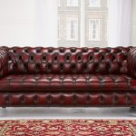 Elegant Cherry Red Leather Sofa , Best Cherry Red Leather Sofa 79 For Modern Sof...