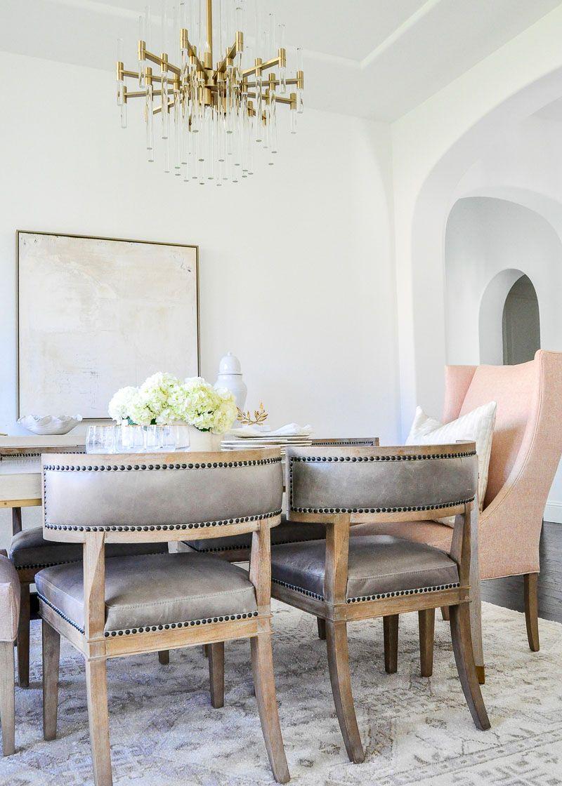 Elegant Dining Room Reveal – Transitional + Stylish – Decor Gold Designs