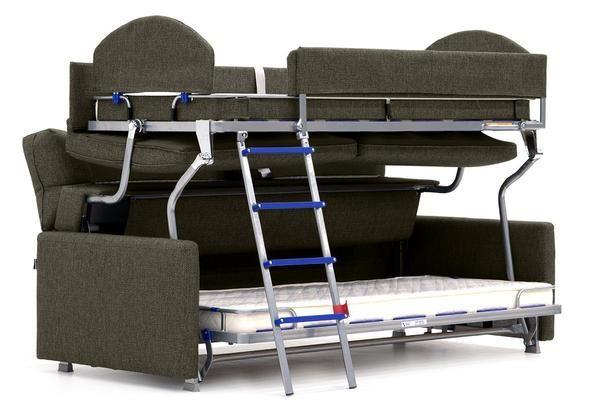 Elevate Sofa Sleeper (Luonto) Bunk Bed Sofa