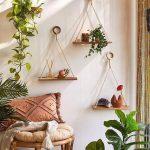 Elie Macramé Hanging Shelf