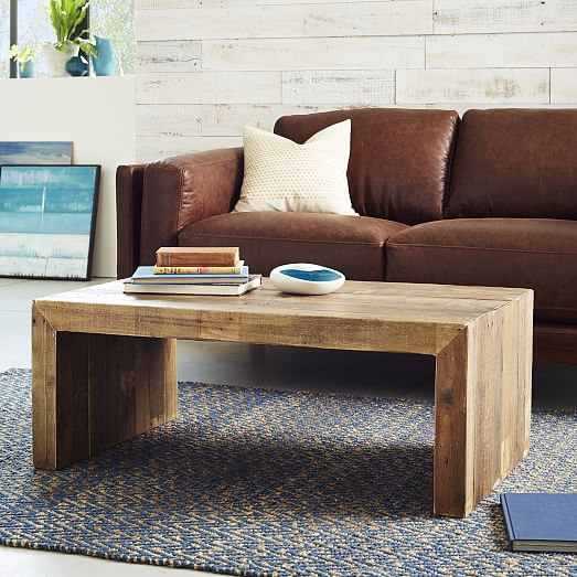 Emmerson® Reclaimed Wood Coffee Table – Stone Gray