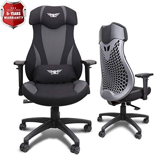 Enjoy exclusive for Acethrone PC Gaming Chair Ergonomic Office Chair Desk Chair  Lift Headrest  Armrests, Flexible Adjustable Height  Reclining Device online – Liketopclothing