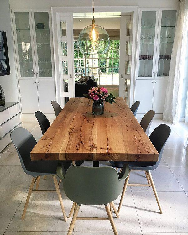 Esstisch Esszimmer Massivholztisch Tisch nach Maß Eichentisch | Holzwerk-Hambur … – Wood Design