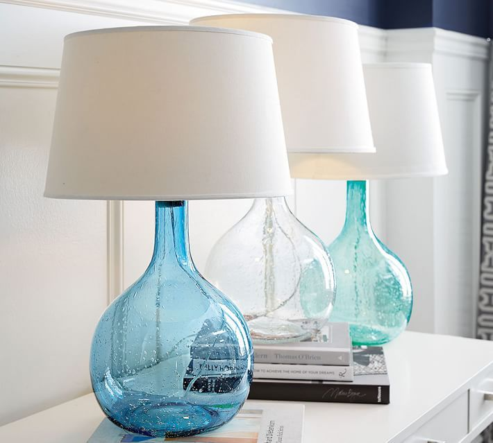 Eva Colored Glass Table Lamp
