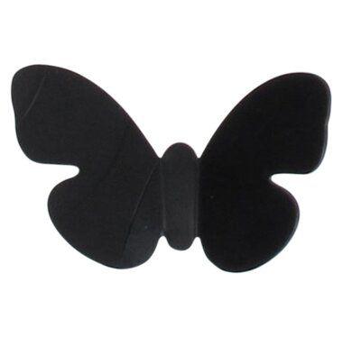 Evideco Acrylic Butterfly Curtain Tieback with Magnet Azure | Wayfair