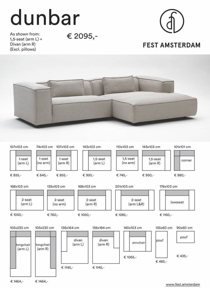 FEST Amsterdam Dunbar modulares Sofa Sofa – #Amsterdam #Dunbar #FEST #modulares …