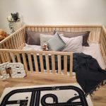 FULL / DOUBLE Montessori toddler beds Frame bed Wood Kids Baby bed Nursery bed Platform bed Children furniture