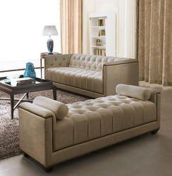 Fabric Sofa Set – Eden – Gold