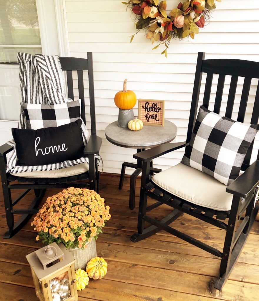 Fall Inspiration: Front Porch Decor – Stickers and Stilettos