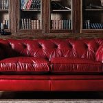 Fantastic Faux Leather Red Sofa , Epic Faux Leather Red Sofa 96 With Additional ...