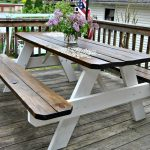 Farmhouse Picnic Table - The Painted Home by Denise Sabia