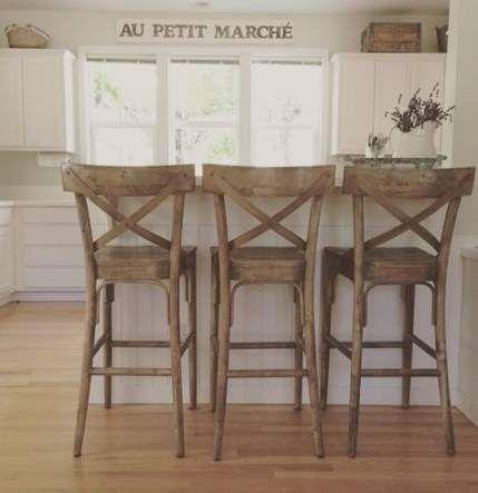 Farmhouse kitchen island stools chairs 46 ideas