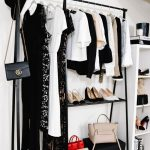 Fashion Jackson, Dallas Blogger, Home Office, Clothing Rack, How to Style a Clot...