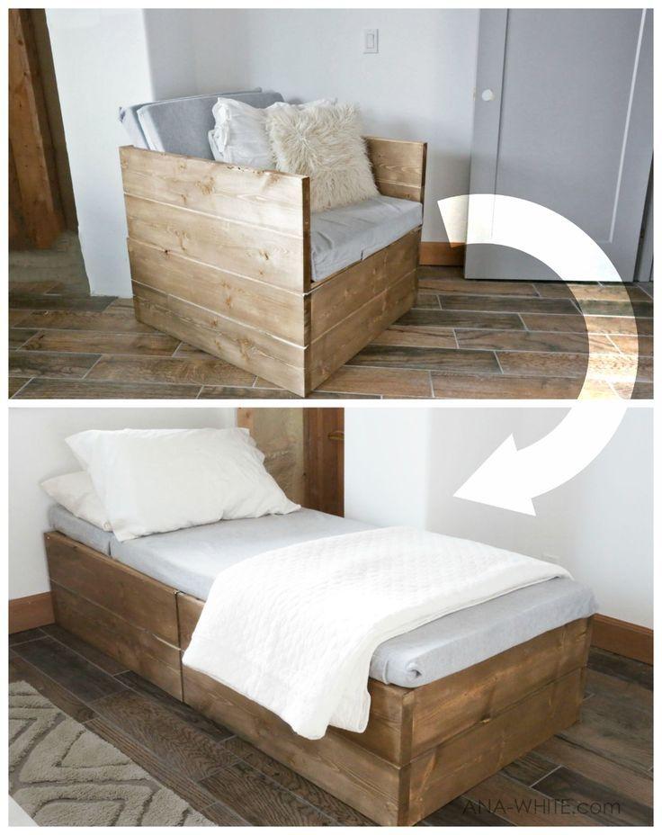 Fauteuil Twin Sleeper (Ana White) – Wood Design