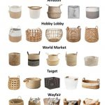 Finding the Perfect Baskets for Your Home - Within the Grove