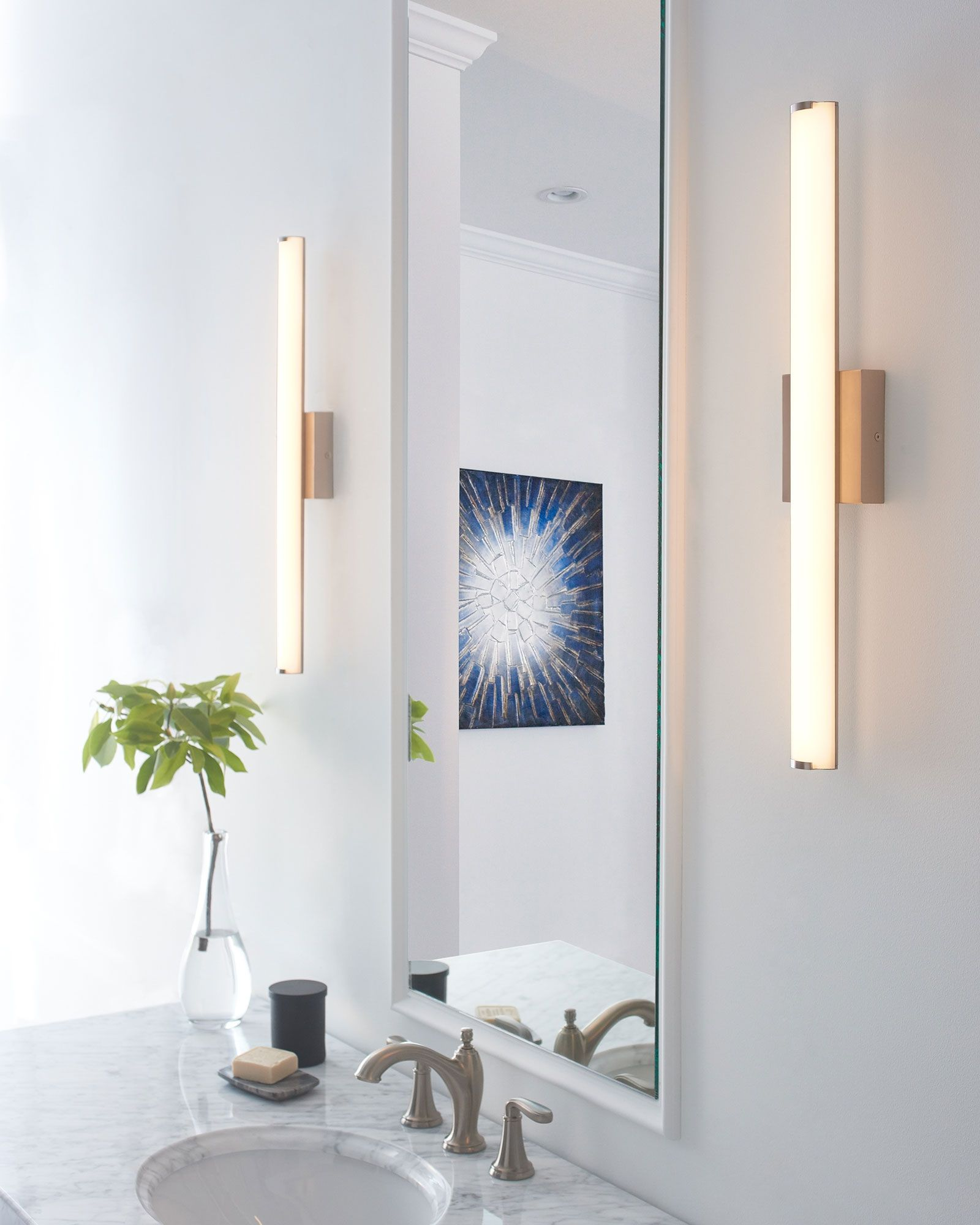 Finn Bathroom Vanity Light by Tech Lighting | 700BCFINN24S-LED930