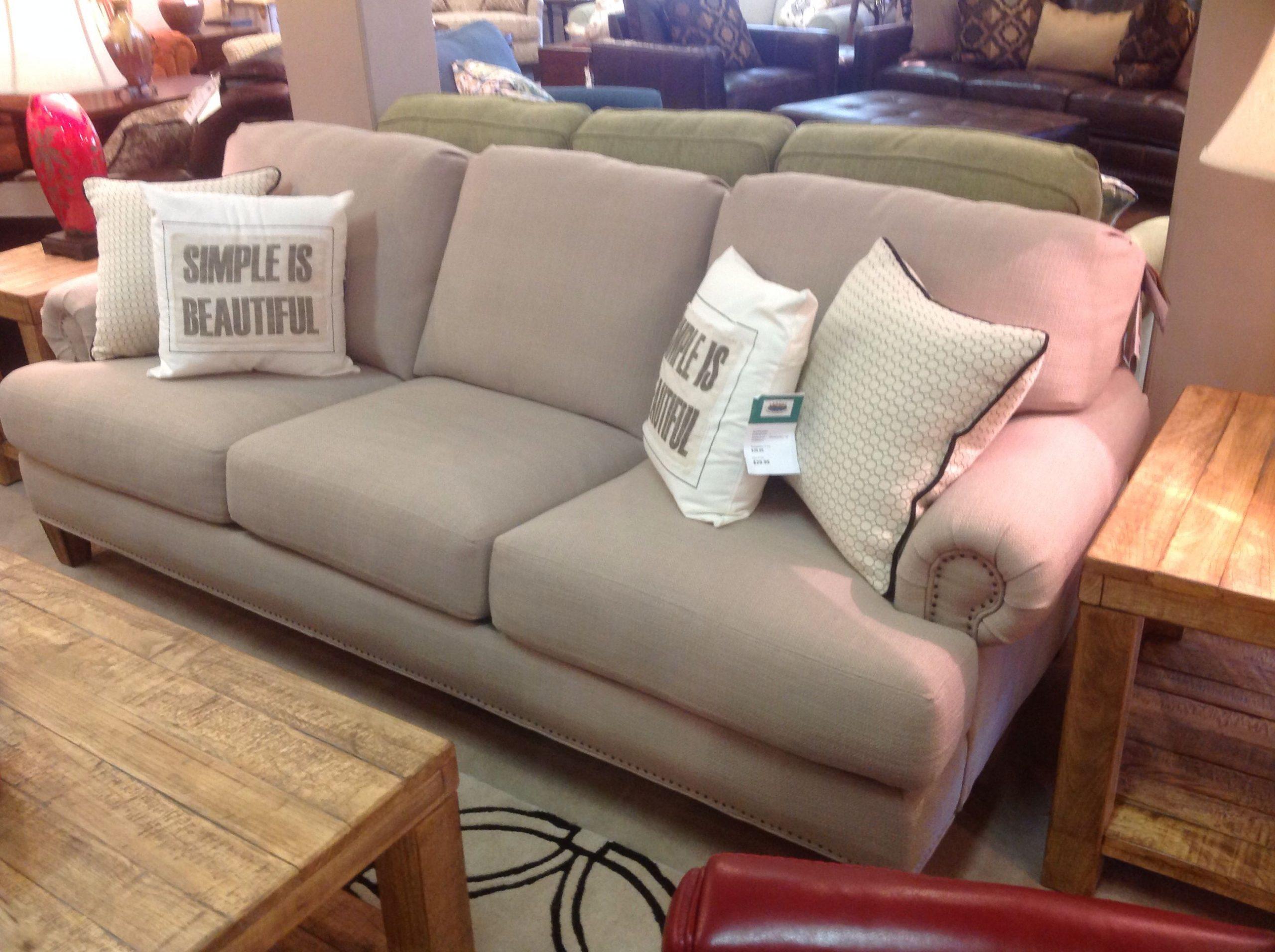 Flex-Steel sofa for great room