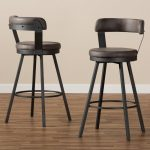 Flint Bar & Counter Swivel Bar Stool