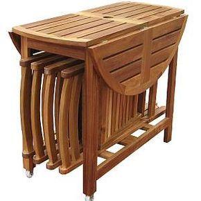 Folding Dining Table Set – MPG-TBS01