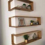 Franklin Shelf - Solid Wood Corner Shelf
