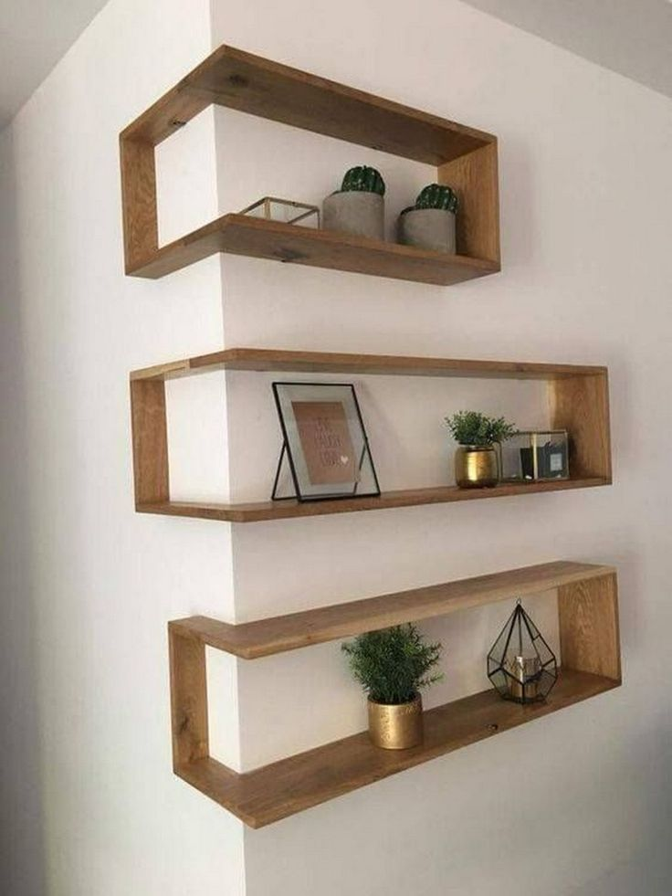 Franklin Shelf – Solid Wood Corner Shelf