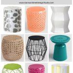 Friday Favs | Garden Stools | Garrison Street Design Studio