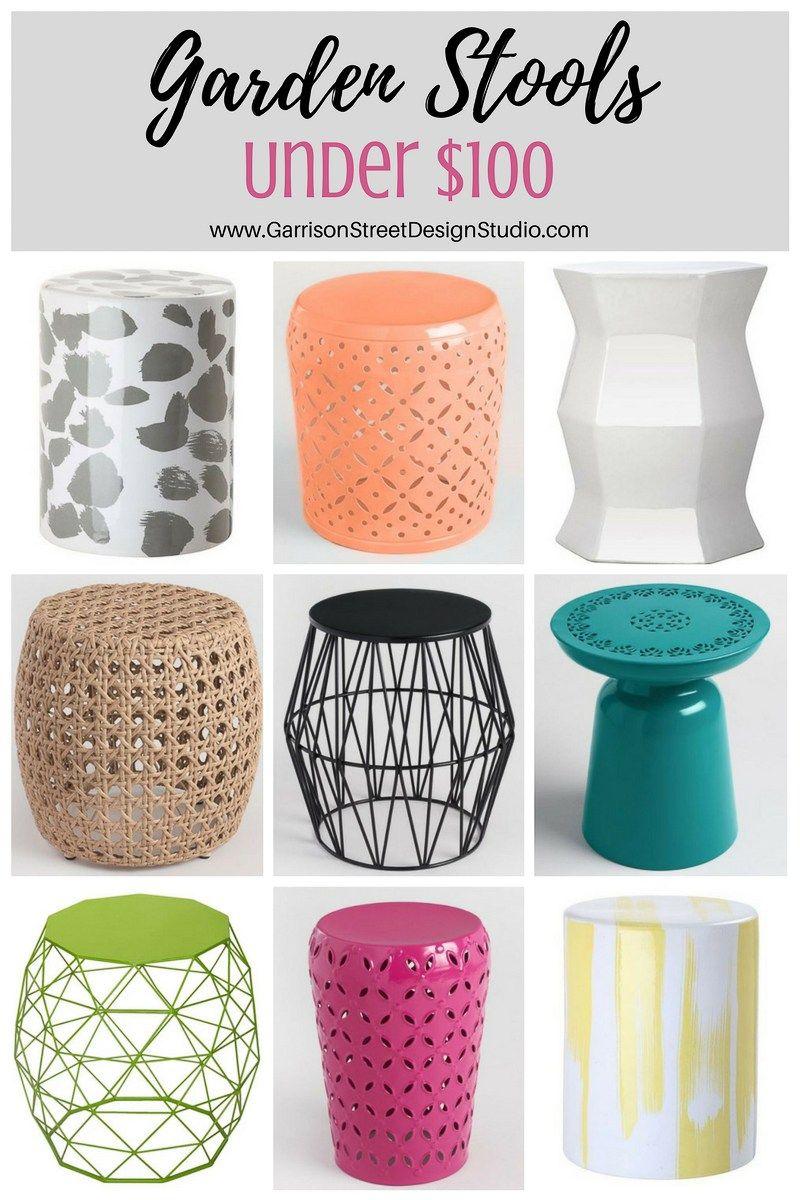 Friday Favs   Garden Stools   Garrison Street Design Studio