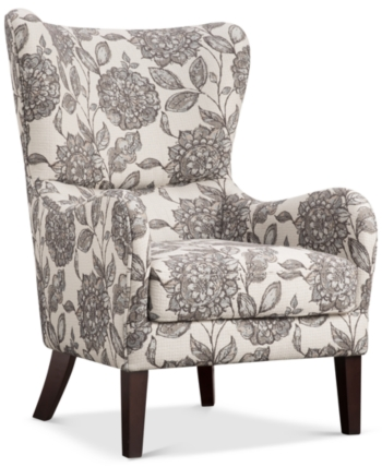 Furniture Daren Wing Chair, Quick Ship & Reviews – Chairs – Furniture – Macy's