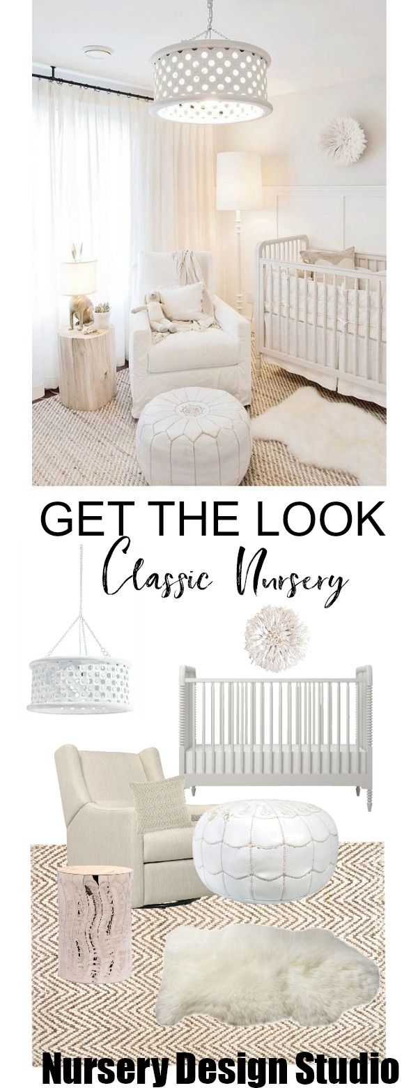 GET THE LOOK: NEUTRAL CLASSIC NURSERY