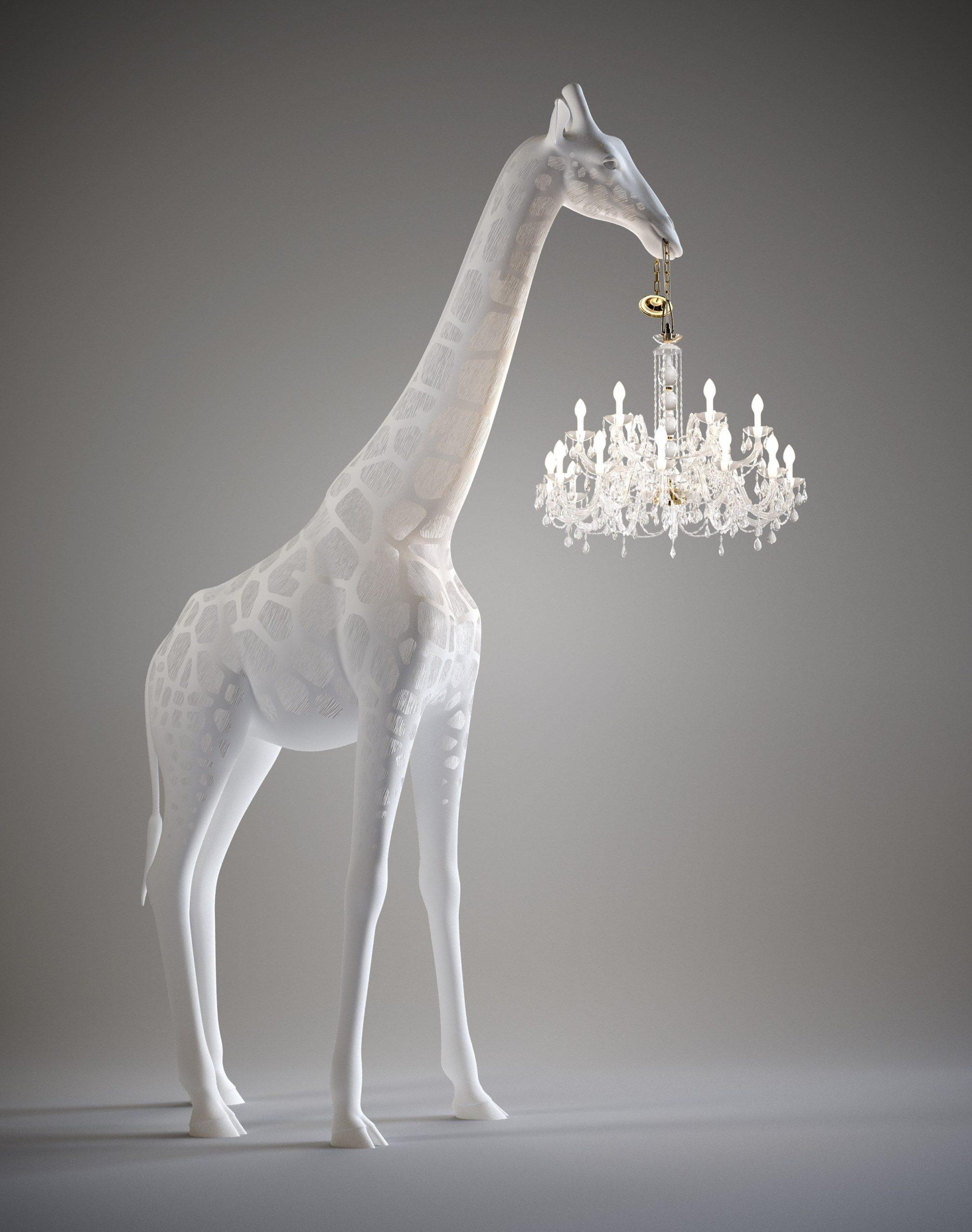 GIRAFFE IN LOVE | Floor lamp Giraffe In Love Collection By Qeeboo design Marcantonio Raimondi Malerba