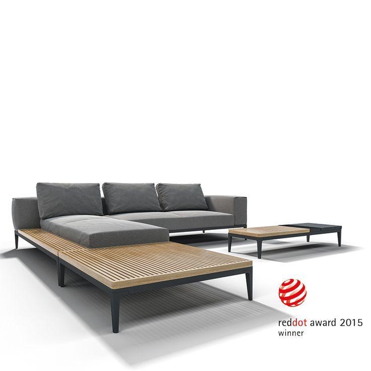 GLOSTER Outdoor Lounge Möbel: GRID – Gewinner des Red Dot Design Awards 2015!
