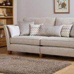 Gainsborough 4 Seater Sofa - Brown fabric