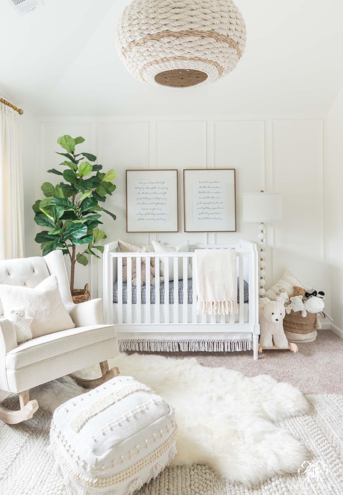 Gender Neutral Nursery Design – Pefect for Boys & Girls! | Kelley Nan