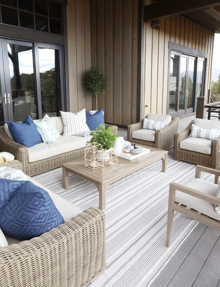 Get the look: Modern Neutral Outdoor Space