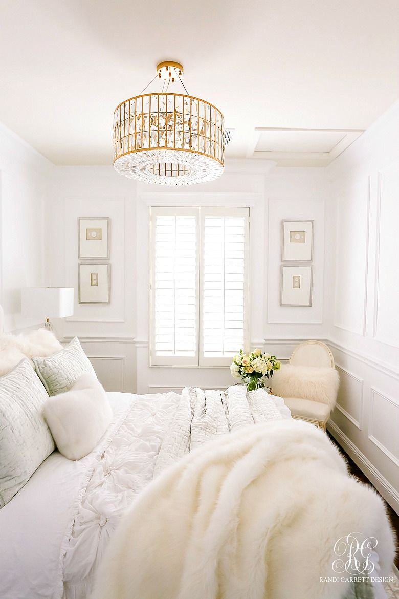 Glam Guest Bedroom Makeover – Randi Garrett Design