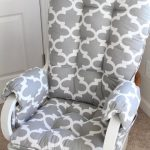 Glider Cushions/Rocker Cushions/ Rocking Chair Cushions/ Glider Rocker Cushions WITH ARM REST Covers