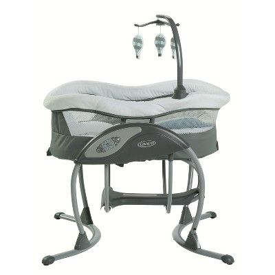 Graco DreamGlider Gliding Baby Swing and Sleeper – Bellevue, Brown