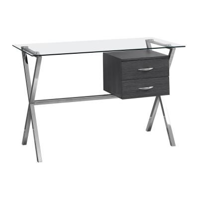 Grey Computer Desk HD7216 – The Home Depot