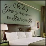 Grow Old Along With Me Vinyl Wall Quote | Love  Marriage Quotes Christian Wall D… - https://pickndecor.com/interior