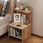 HLC Wood Nightstand Bed End Side Table Bathroom Cabinet - Walmart.com