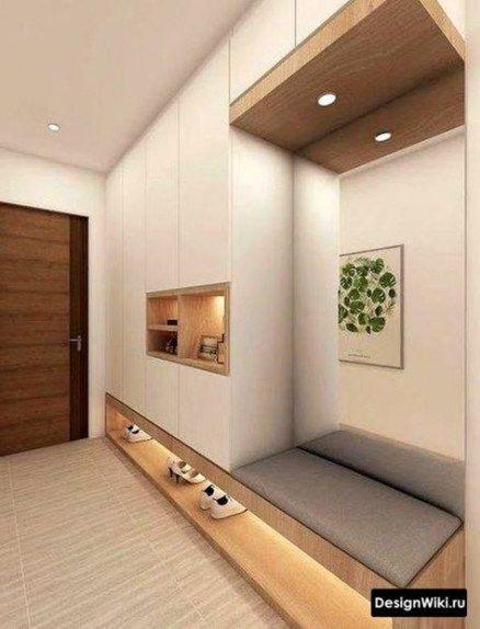 Hallway Storage Modern Interior Design 56+ Ideas