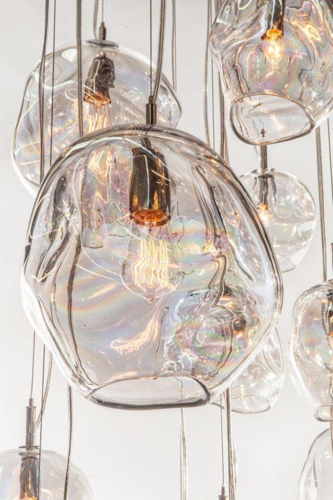 Hand Blown Glass Pendant Lights Awe Inspiring John Pomp Infinity 11w X In Interi…